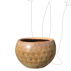 Tang Water Bowl 48x36cm